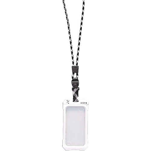 EK USA Dri Cat Neck it Waterproof Case with Lanyard for iPhone 4/4S (White)