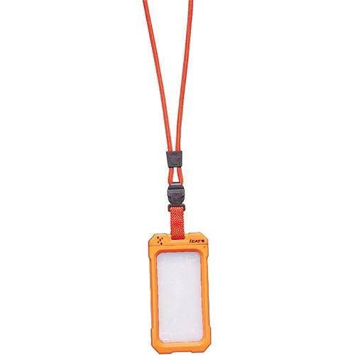 EK USA Dri Cat Neck it Waterproof Case with Lanyard for iPhone 4/4S (Orange)