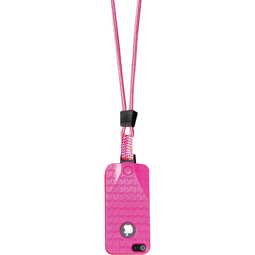 EK USA i5 Speak Easy Neck it Case with Lanyard for iPhone 5 (Pink)