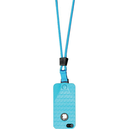 EK USA i5 Speak Easy Neck it Case with Lanyard for iPhone 5 (Turquoise Blue)