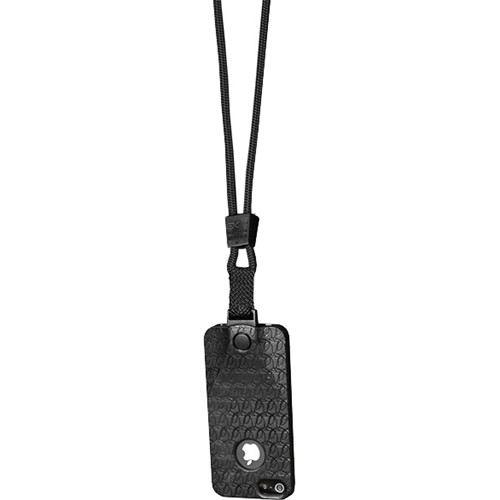EK USA i5 Speak Easy Neck it Case with Lanyard for iPhone 5 (Black)