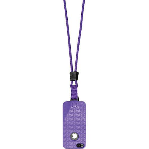 EK USA i5 Speak Easy Neck it Case with Lanyard for iPhone 5 (Purple)