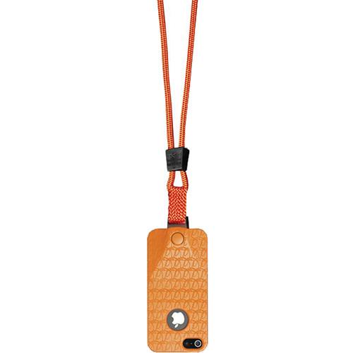 EK USA i5 Speak Easy Neck it Case with Lanyard for iPhone 5 (Orange)