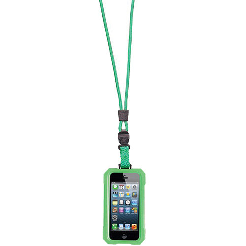 EK USA i5 Dri Cat Neck it Waterproof Case with Lanyard for iPhone 5 (Lime Green)