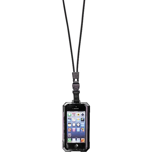 EK USA i5 Dri Cat Neck it Waterproof Case with Lanyard for iPhone 5 (Black)