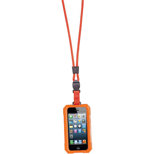 EK USA i5 Dri Cat Neck it Waterproof Case with Lanyard for iPhone 5 (Orange)