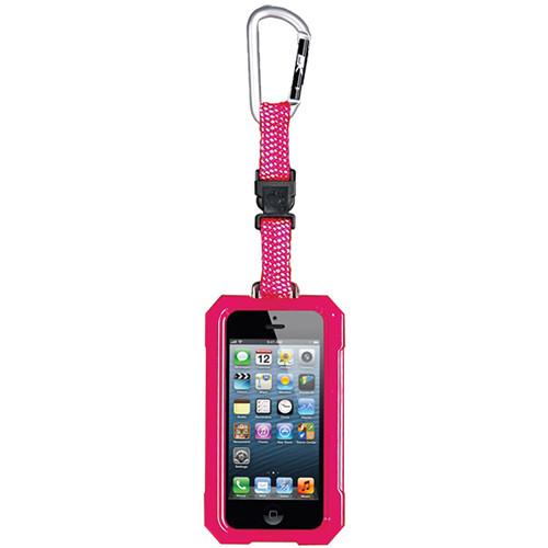 EK USA i5 Dri Cat Hang it Waterproof Case with Carabiner Leash for iPhone 5 (Pink)
