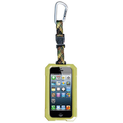 EK USA i5 Dri Cat Hang it Waterproof Case with Carabiner Leash for iPhone 5 (Camouflage)