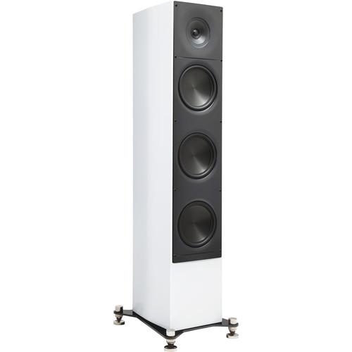 """ELAC Adante AF-61 6.5"""" 3-Way Floor-Standing Speaker (Gloss White, Single)"""
