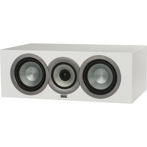 ELAC Uni-Fi CC U5 Slim Three-Way Center Channel Speaker (White)