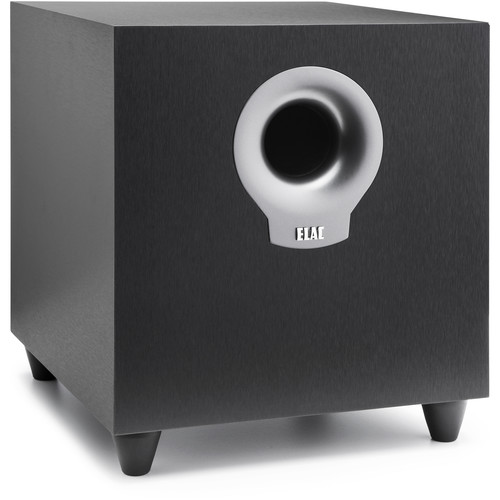 ELAC 10 200W Powered Subwoofer (Black Brush Vinyl)