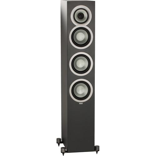 ELAC Uni-Fi Slim FS U5 Floorstanding 3-Way Speaker (Black, Single)
