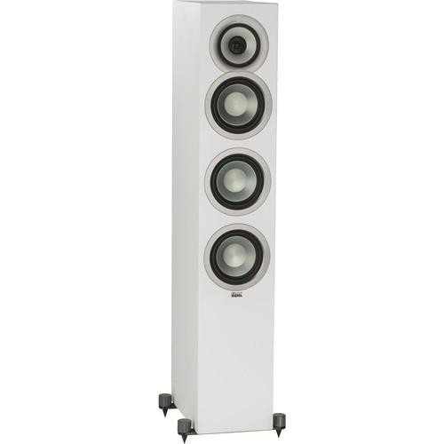ELAC Uni-Fi Slim FS U5 Floorstanding 3-Way Speaker (White, Single)