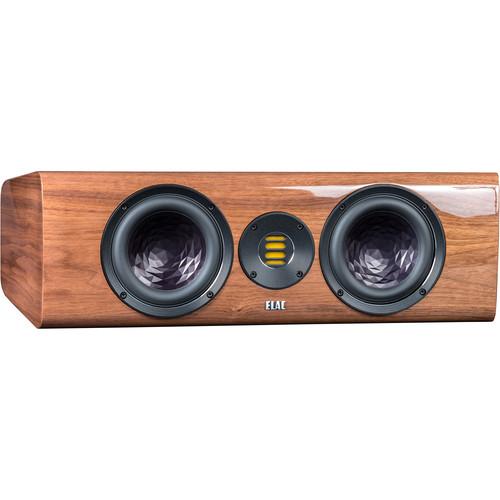 ELAC Vela CC 401 2.5-Way Center Channel Speaker (Gloss Walnut)