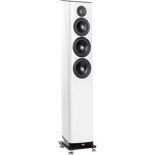 ELAC Vela FS 409 3.5-Way Floorstanding Speaker (Gloss White, Single)