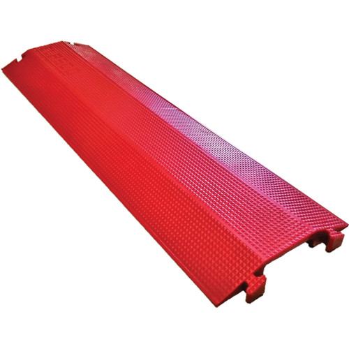 """Elasco Products Single-Channel 4 x 1"""" Dropover (Red)"""