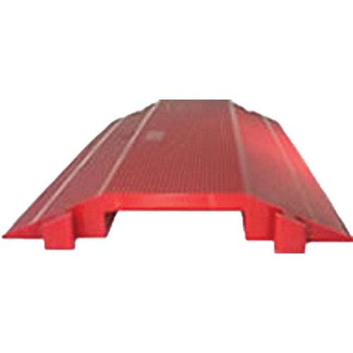 """Elasco Products Single-Channel 7.5 x 1.6"""" Dropover (Red)"""