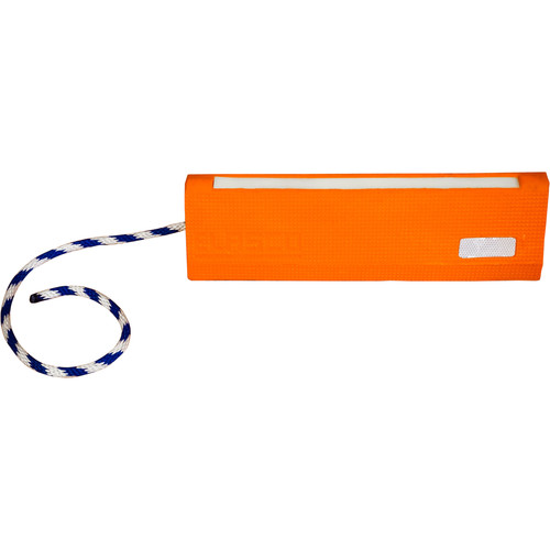 Elasco Products Aircraft Chock with Glow & Reflectors (Orange)