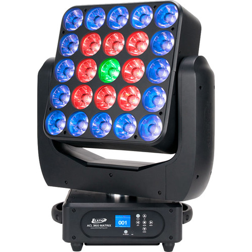 Elation Professional ACL 360 Matrix Quad-LED Moving Head Effect Fixture