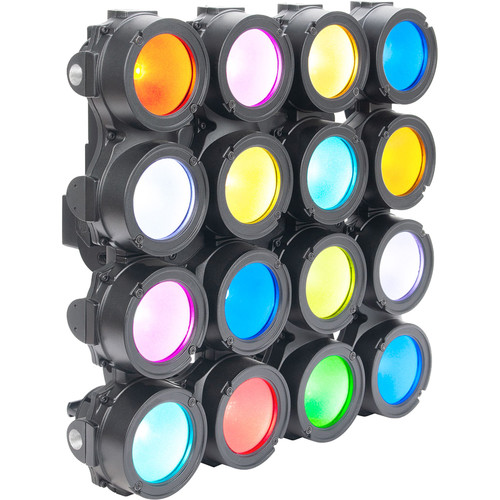 Elation Professional CUEPIX 16IP - Panel Array of 16 4-in-1 COB LEDs (RGBA)
