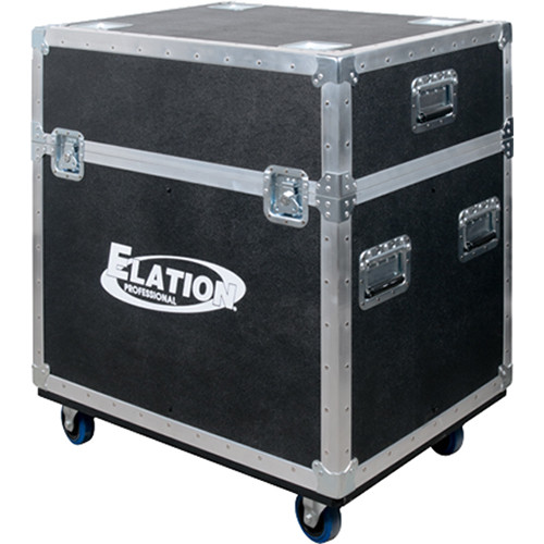 Elation Professional Quad Road Case for Fuze Wash Z120 Moving Heads