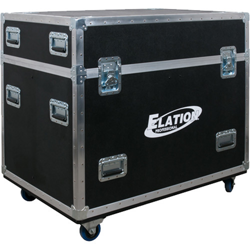 Elation Professional Quad Road Case for Fuze Wash Z350 Moving Heads