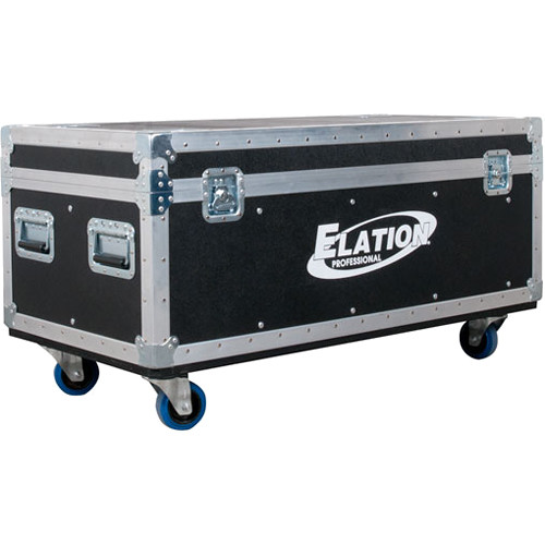Elation Professional Road Case for up to Eight ACL 360i Single-Beam Moving Heads