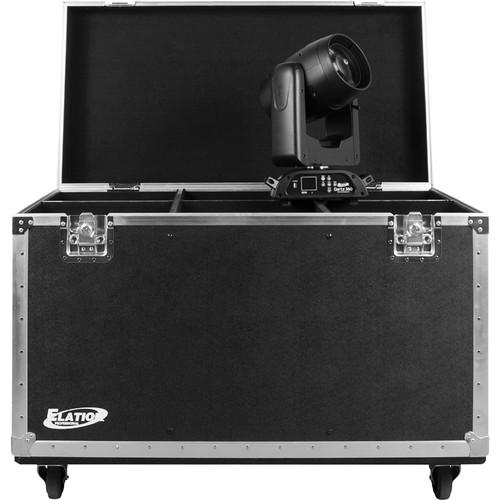 Elation Professional DARTZ 360 6-Pack Road Case (Black)
