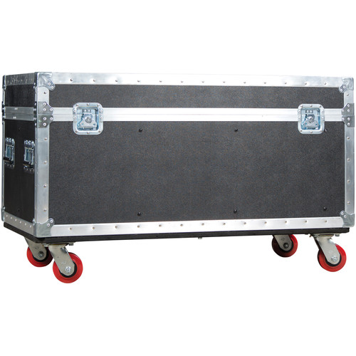 Elation Professional DRCRAY2R Road Case for Six Rayzor Beam 2R Fixtures