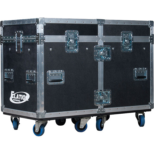 Elation Professional DRCSATTOUR Dual Road Case for Two Satura Spot LED Pro Fixtures