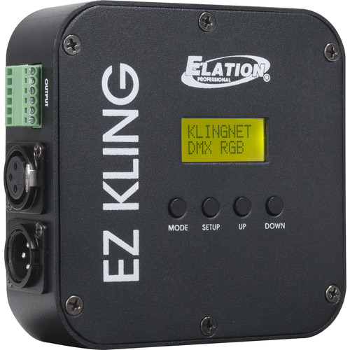 Elation Professional EZ KLING - RJ45 to DMX, KlingNet, and ArtNet Interface