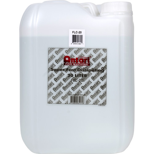 Elation Professional FLC-20 Fast-Dissipating-Fog Fluid (5.3 Gallon Bottle)