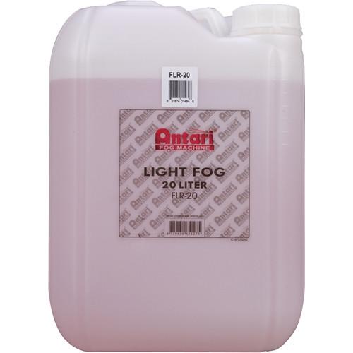 Elation Professional FLR-20 Quick-Dissipating-Fog Fluid (Red, 5.3 Gallon Bottle)