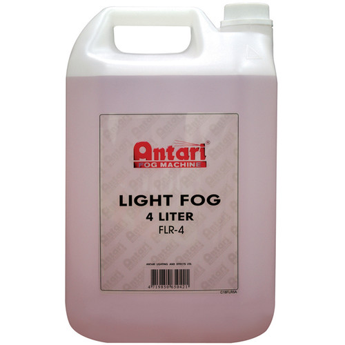 Elation Professional FLR-4 Quick-Dissipating-Fog Fluid (Red, 1.1 Gallon Bottle)