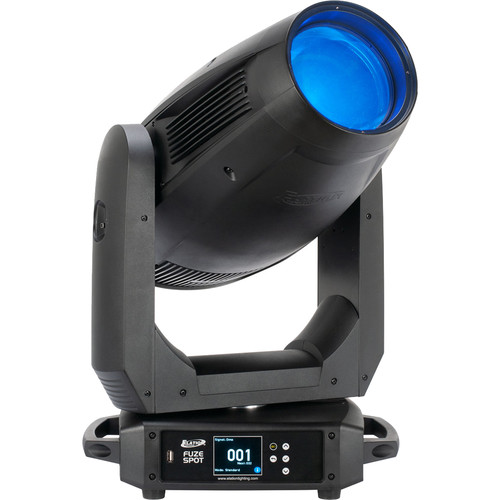 Elation Professional 305W Red/Green/Blue/Mint/Amber LED Moving Head Spot Fixture with Zoom