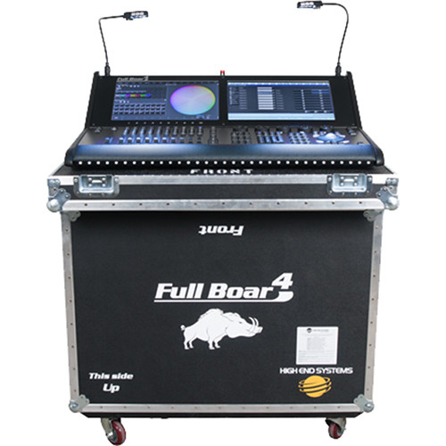 Elation Professional Full Boar 4 Lighting Console with Road Case