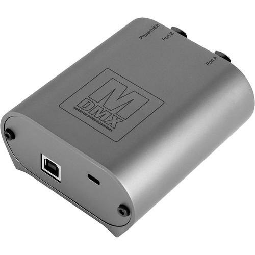 Elation Professional 2-Port DMX Node for M-PC