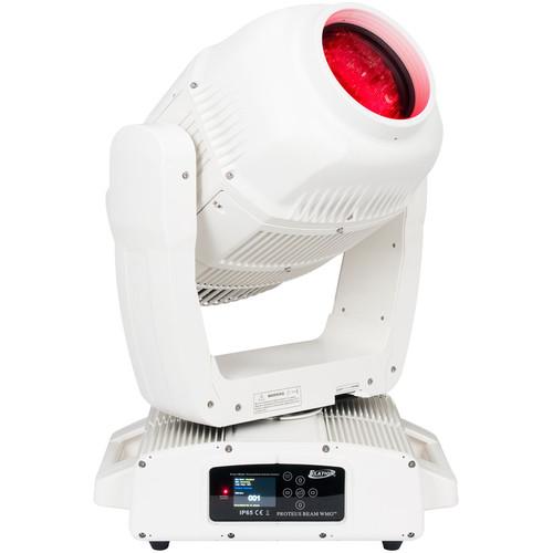 Elation Professional 280w Proteus Moving Head Beam Luminaire (White Marine Grade)