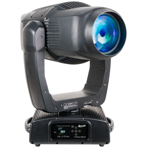 Elation Professional PROTEUS HYBRID FC 3-in-1 Outdoor Moving Head Luminaire (Black, with Flight Case)