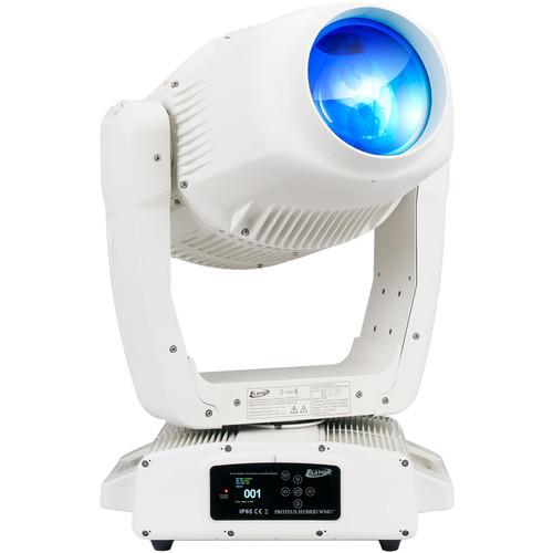 Elation Professional PROTEUS HYBRID WMG 3-in-1 Outdoor Moving Head Luminaire (White Marine Grade)