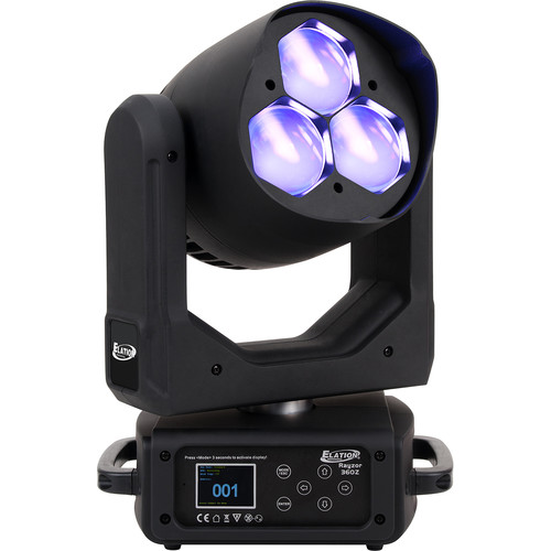 Elation Professional RAYZOR 360Z Moving-Effect Luminaire