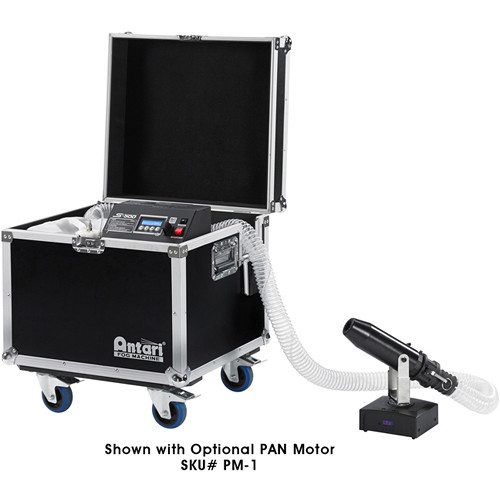 Elation Professional Antari Silent DMX Snow Machine with Wheeled Road Case