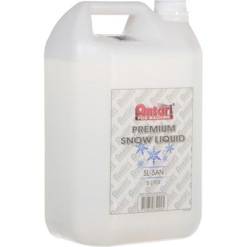 Antari SL-5AN Premium Snow Liquid for Snow Machines (1.3 Gallons)
