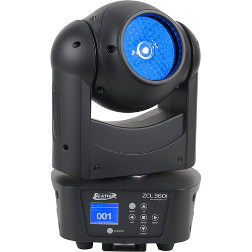 Elation Professional ZCL 360i RGBW Moving Head Fixture