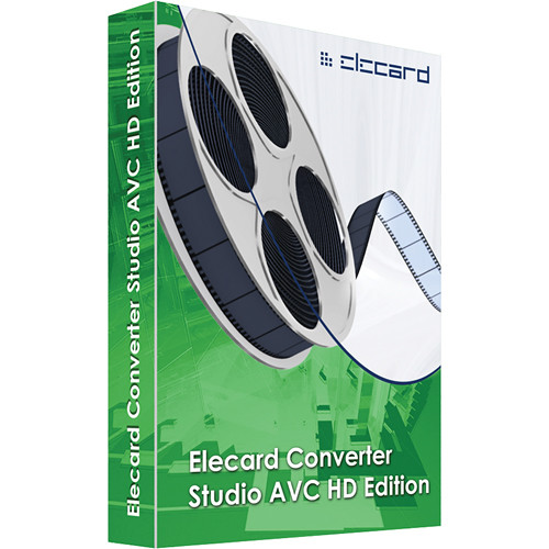 Elecard Converter Studio AVCHD Edition Transcoding Software (Download)