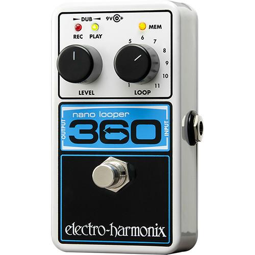 Electro-Harmonix Nano Looper 360 - Compact Looper Pedal