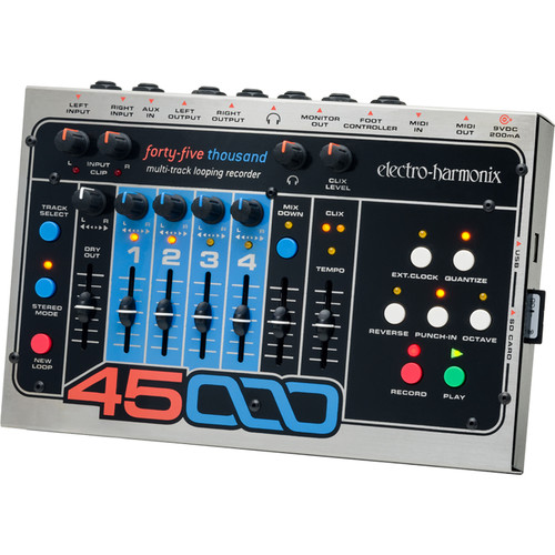 Electro-Harmonix 45000 Multi-Track Stereo Looping Recorder