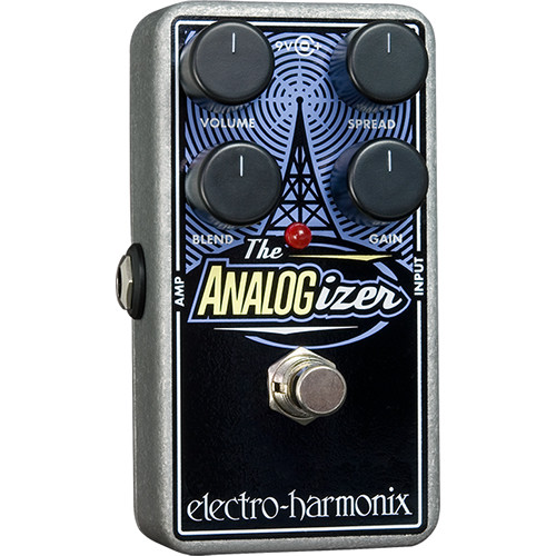 Electro-Harmonix Analogizer Pedal for Preamplifier EQ and Tone Shaping
