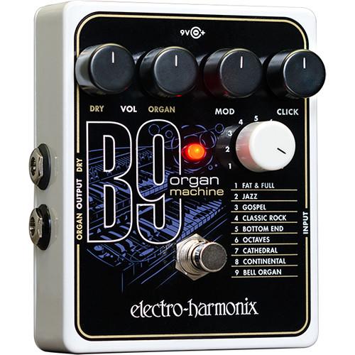electro harmonix b9 organ machine pedal b9 b h photo video. Black Bedroom Furniture Sets. Home Design Ideas