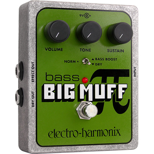 Electro-Harmonix Bass Big Muff Pi Distortion/Sustain Pedal